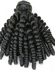3Pcs/Lot Cheapest Unprocessed Aunty Funmi Hair Bouncy Curl Spring Curl Egg Curl Virgin Human Hair Weft