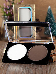 New YCID® Double Colors High Light Shadow Powder  1Pc