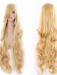 Gold in Europe and the Wig Sales of Foreign Trade Factory Direct Sale Spot 80cm Synthetic Wig