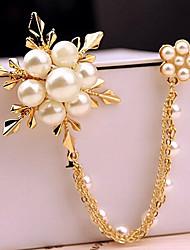nova moda jóias de pérolas chegada populares flor broche