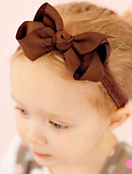 Kid's Big Bow Headband Random Color(3 Month-10Years Old)