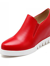 Women's Shoes  Wedge Heel Heels / Platform / Round Toe Heels Office & Career / Dress / Casual Black / Red / White