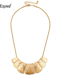 D Exceed Hot Fashion Gold Plated Regular Shaped Necklace Beads And Long Pendant Necklaces Women And Ladies Jewelry
