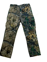 Men Outdoor Waterproof Camouflage Fleece Shell Long Trousers Camo Hunting Fishing Pants