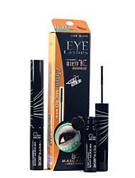 Mascara Balm Wet Extended / Lifted lashes / Volumized Black Eyes