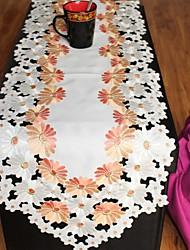 1 Polyester Rectangulaire Chemins de table