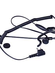 baiston BST-m curva profissional walkie talkie tático fone de ouvido com haste de extensão e uma interface de m