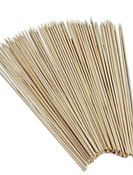 BBQ 95Pcs Bamboo Skewers Bamboo Sticks Party Tornado Potato BBQ Tool Wood Skewers Bambou Brochette