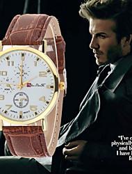 2016 hombres de la moda de cuarzo relojes de marca estudiante deporte relojes del reloj de la ropa informal de reloj militar