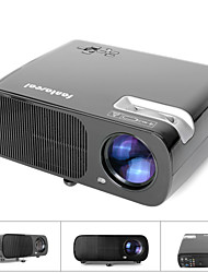 fantaseal® 1080p FHD suportado 1800lm mutimedia mini-home theater projector LED w / ATV, HDMI, VGA, USB 2.0, av,