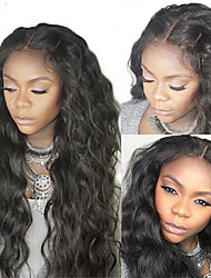 High Ponytail Body Wave Wigs Virgin Brazilian 130 Density Lace Front Wig Unprocessed Glueless Front Lace Human Hair Wigs