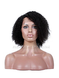 Premierwigs Affordable Lace Front Wigs Human Virgin Hair Wigs 12-26inches Side Part Jerry Curly