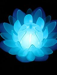 Valentine'S Day Gift Led Simulation Blessing The Lanterns Wishing Light Eva Colorful Lotus Lamp