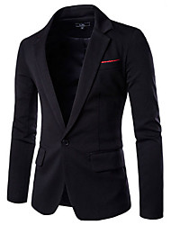 solapa dianmonade informal chaqueta de algodón de los hombres