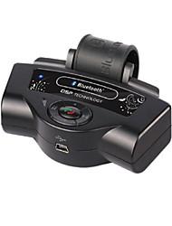 Bluetooth V2.0 wiederaufladbare Autofreisprechfunktion w / A2DP Funktion / Doppeleinsatzbereitschaft / TTS-Funktion
