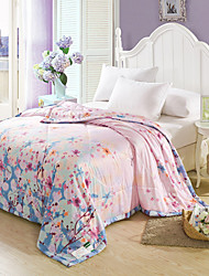 Yuxin®Tencel Modal Summer Air Conditioning Quilt Quilt Reactive Printing Summer Cool Quilt  Bedding Set