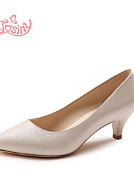 Women's Shoes  Low Heel Ballerina Flats Casual Silver / Gold