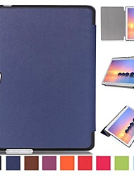 10 Inch Triple Folding Pattern High Quality PU Leather for Huawei MediaPad M2 10.0-A01W(Assorted Colors)
