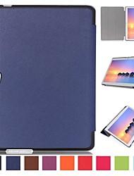 10 pouces triple motif pliage de haute qualité cuir PU pour Huawei MediaPad m2 10,0 a01w (couleurs assorties)