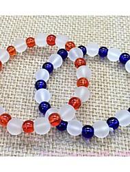 Agate crystal bracelet