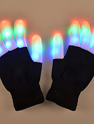 Valentine'S Day Gift Creative The Dancing Light Gloves Colorful Clothing Props Sequins Lamp Light Led
