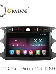 "For VW Tiguan 2013-2015 Car DVD Player with Quad Core Android 4.4.2 GPS Navigation 10.2"" HD 1024*600"