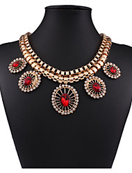 MPL   The new fashion all-match drop diamond necklace