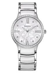 bestdon los hombres de cuarzo japonés reloj del vestido de la manera de cerámica de 40 mm resistente al agua 100m cristal de diamante