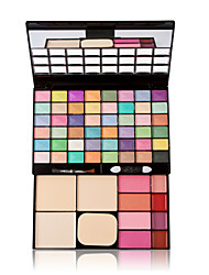 Hot Sale 8 Colors Eye Shadow with Blush Brush Lip Gloss Professional Make up Set