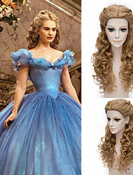 Cinderella/Curly Hair/Cos/Cosplay/Daily Wig