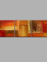 абстрактные картины маслом 3 шт