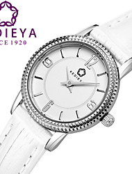 KEDIEYA Watch Brand Watches Women Leather Strap Fashion Pyramid Bezel Quartz Watch Gift Wrist Watches for Women Cool Watches Unique Watches
