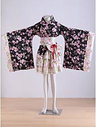 Vibration Sleeve Kimono Culture Short Kimono 1 Cherry Story  Cosplay Costume
