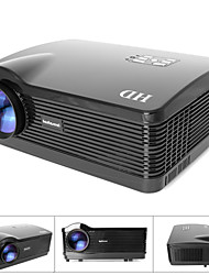 fantaseal® 1080p FHD suportado 2800lm mini-mutimedia home theater projector LED w / ATV, HDMI, VGA, USB 2.0, av, sd