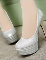 Women's Shoes Heel Heels / Platform Heels Wedding / Party & Evening / Dress Black / Red / Silver / Gold
