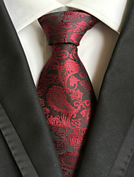 Cravate (Rouge , Polyester) Motif