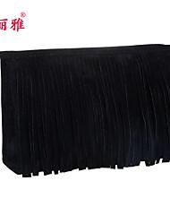 Aufbewahrung für Make-Up Kosmetik Tasche / Aufbewahrung für Make-Up Polyester Quaste Quadratisch 23x7x15cm Schwarz / Rot / Lila