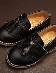 Zapatos de bebé - Mocasines - Exterior / Casual - Semicuero - Negro / Marrón / Rojo