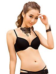 Women Girls Bra Front Closure Adjustable Straps Thickening Padded Push Up Underwire Lingerie Underwear