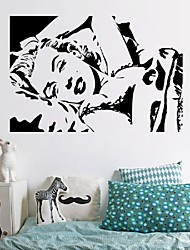 Marilyn Monroe Wall Stickers Home Decor Wall Decals Bedroom Home Decor Diy Wall Art Living Room