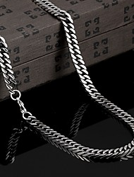 Personality in Europe and America to Restore Ancient Ways Exaggerated Titanium Steel Necklaces Jewelry Christmas Gifts