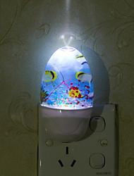 urgence contrôlée belle marine de lumière intelligente du monde a mené la lumière de nuit pour la maison de chambre d'enfant décoration