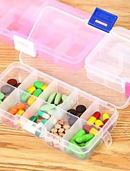 Caja de Viaje para PastillasForAccesorios de Emergencia para Viaje Plástico 13*7*2cm