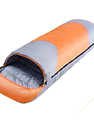 Спальный мешок Прямоугольный Односпальный комплект (Ш 150 x Д 200 см) -15℃ Утиный пух 1800g 220X80 Путешествия Сохраняет тепло CAMEL