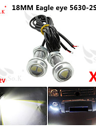 2 х 9w водить глаза орла света тумана автомобиля DRL дневного времени обратный резервный сигнал парковки