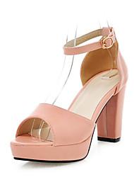Women's Shoes Chunky Heel Heels / Peep Toe / Platform / Open Toe Sandals Office & Career / Party & Evening