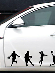 Funny Slamdunk Car Sticker Car Window Wall Decal Car Styling (1pcs)