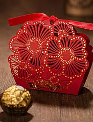 Cajas de Regalos(Rojo,Papel de tarjeta) -Tema Clásico-Baby Shower / Matrimonio