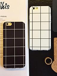 Pour Coque iPhone 6 Coques iPhone 6 Plus Motif Coque Coque Arrière Coque Forme Géométrique Flexible Silicone pouriPhone 6s Plus/6 Plus