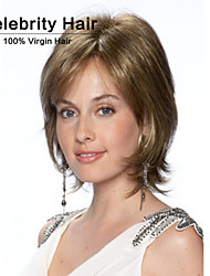 Europe and The United States Chemical Fiber Wig Blonde Fleeciness Wavy Woman Wig Caps